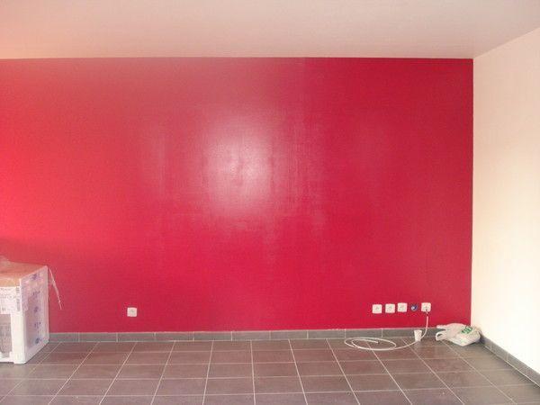 Notre maison vedastienne for Peinture gris rouge